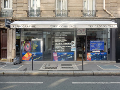 rue mademoiselle - Local Commercial 58 m² RDC sur rue